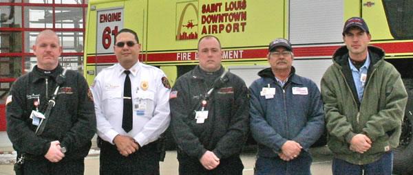 St. Louis Downtown Airport Fireman