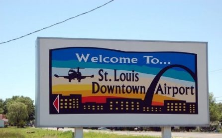 St. Louis Downtown Airport Sign