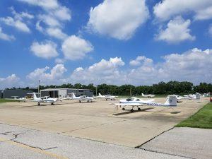 SLU planes at St. Louis Downtown Airport