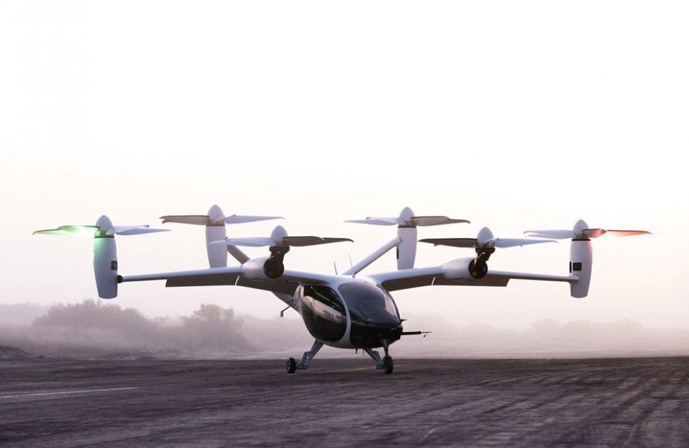 An all-electric, vertical take-off and landing passenger aircraft
